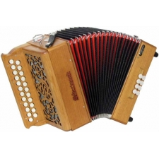 Sherwood Shire III G/C Melodeon with Cagnoni Reeds & Bag (GR42056)