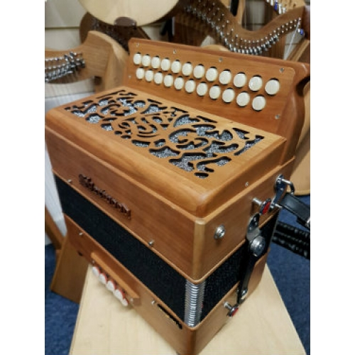 Sherwood Howe III B/C Melodeon with Cagnoni Reeds & Bag (GR42058)