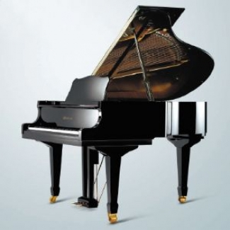 "4' 11"" Weber W150 Baby Grand Piano in Black Polyester"