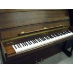 Charles Howes Langdale Deluxe Upright Piano Dark Walnut Satin Finish