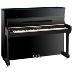 Steinmayer S118 Upright Piano in Black Polyester