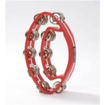 Percussion Plus PP484 Red Oval Tambourine