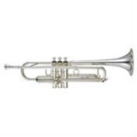 Yamaha YTR5335-GSII Bb Trumpet (Silver Plated) with Case & Mouthpiece