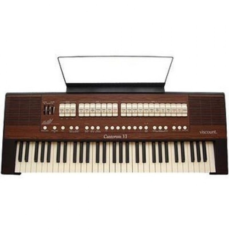 Viscount cantorum 6 classical organ keyboard at promenade for Classic house organ bass