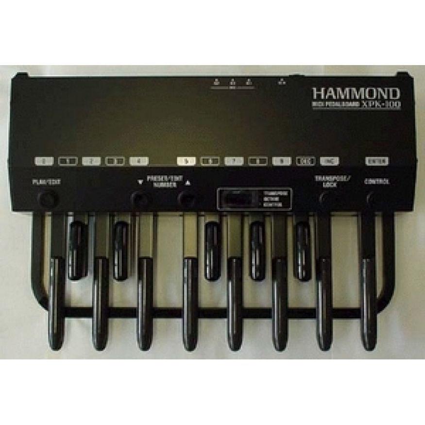 Hammond hammond organs midi pedal boards hammond for Classic house organ bass