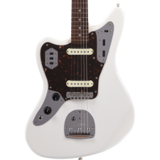 Fender 2019 Ltd Ed MIJ Traditional 60s Jaguar Left-Handed, Arctic White