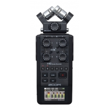 Zoom H6 Handheld Portable Recorder and Interface, Black edition