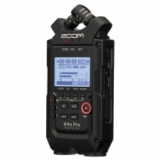 Zoom H4n Pro Black Handy Recorder and Audio Interface