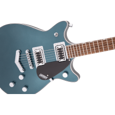 Gretsch G5222 Electromatic Double Jet BT with V-Stoptail, Jade Grey Metallic