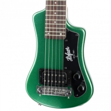 Hofner HCT Shorty Electric Guitar in Cadillac Green