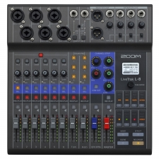 Zoom Livetrak L8 Portable Recording Studio, Interface and Mixer