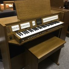 Content Clavis 125 UK Spec Single Manual Organ & Stool With Stool