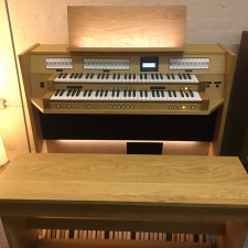 Content Clavis 224 Custom UK Specification Organ In Dark or Light Oak
