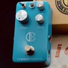 D.Effects DE01 Iceberg Overdrive Effects Pedal