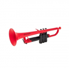 PTrumpet Plastic Trumpet in Red with Bag