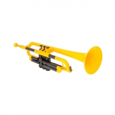 PTrumpet Plastic Trumpet in Yellow with Bag