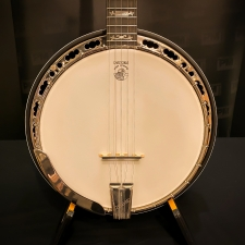 Deering Sierra Mahogany 5-String Banjo With Hard Case, Secondhand