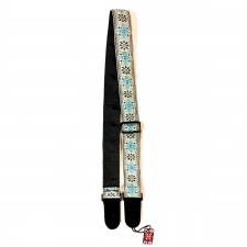 """Levin 2"""" Textured Fabric Guitar Strap Eastern (LS-G-TF-200-EASTERN)"""
