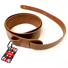 """Levin 2"""" Leather Guitar Strap in Brown (LS-G-L-200-BROWN)"""