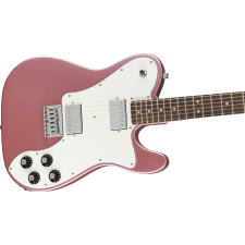 Squier Affinity Series Telecaster Deluxe, Burgundy Mist