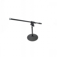 Arena Low Boom Stand With Round Base (MIC-LOW-INSTRUMENT-290)
