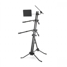 Arena KB-Stick2 Double Tier Keyboard Stand With Mic & Music Stand