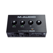 M-Audio M-Track Duo 2-Channel USB Audio Interface with 2 Combo Inputs