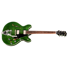 Guild Starfire I DC, Emerald Green with Bigsby