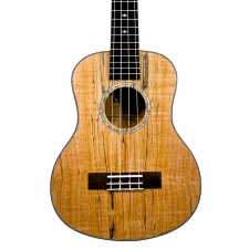 Levin LU50T Tenor Spalted Maple Ukulele in Natural Satin with 10mm Gig Bag