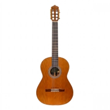 Mendieta Professional Classica All Solid Guitar In Natural with Hard Case