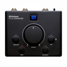 PreSonus Microstation BT 2.1 Monitor controller with Bluetooth and Subwoofer Output