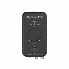 IK Multimedia iRig Stream Pro 4-in, 2-out streaming audio interface