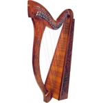 Glenluce 29 String Harp With 24 levers
