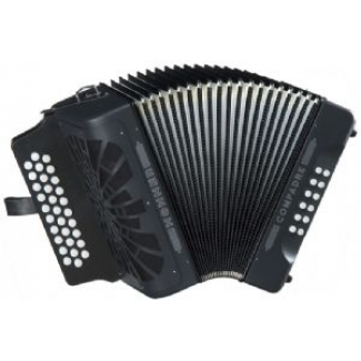 Hohner Compadre 3 Row Diatonic Accordion / Melodeon