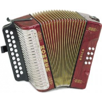 Hohner Erica Diatonic Accordion / Melodeon