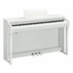 Yamaha CLP625 Clavinova Digital Piano in White (CLP625WH)