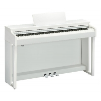 Yamaha CLP625 Clavinova Digital Piano, White