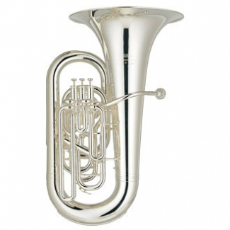 Yamaha YEB632 02 Neo Eb Tuba in Silver Plate with Case & Mouthpiece
