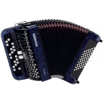 Hohner Nova II 3 Row 48 Bass Chromatic Accordion, Secondhand
