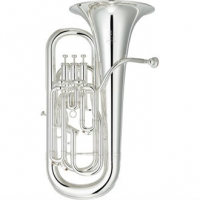 Yamaha YEP642S S II Model Bb Euphonium in Silver Plate With Case & Mouthpiece