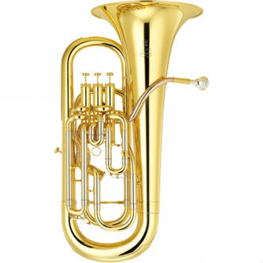 Yamaha yep642 neo bb euphonium in lacquer with case for Yamaha trombone case