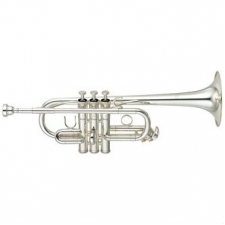 Yamaha YTR6610S Eb/D Trumpet (Silver Plated) with Case & Mouthpiece