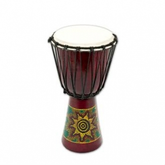 Percussion Plus PP6650 Sun/Rainbow Djembe