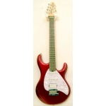 MusicMan Silhouette Special Electric Guitar in Candy Red