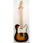 Fender Standard Telecaster Electric Guitar in Brown Sunburst
