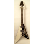 Duesenberg Rocket II Electric Guitar in Black & White