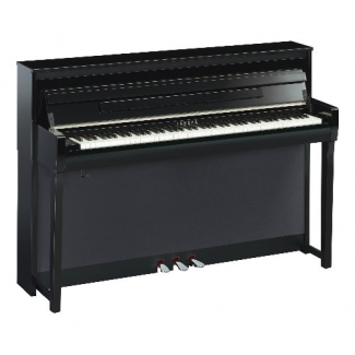 Yamaha CLP685 Clavinova Digital Piano In Black Polished Ebony (CLP685PE)