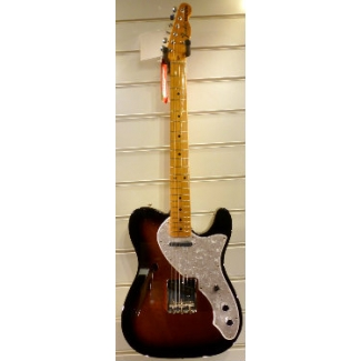Fender American Vintage '69 Tele Thinline in Two Tone Sunburst, Secondhand