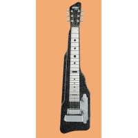 Gretsch G5715 Lap Steel Guitar in Black Sparkle