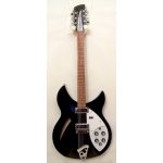 Rickenbacker 330 12-String Electric Semi Guitar in Jetglo